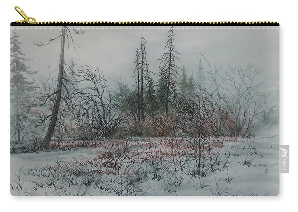 Winter, Alberta Carry-all Pouch