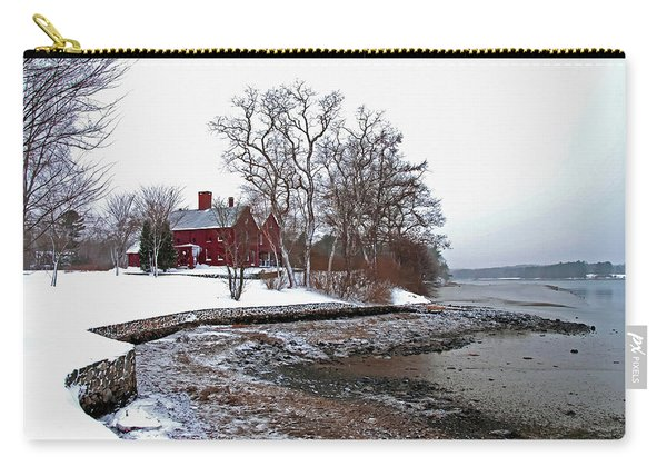 Winter At Perkins House  Carry-all Pouch