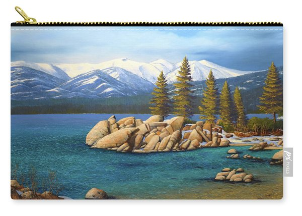 Winter At Sand Harbor Lake Tahoe Carry-all Pouch