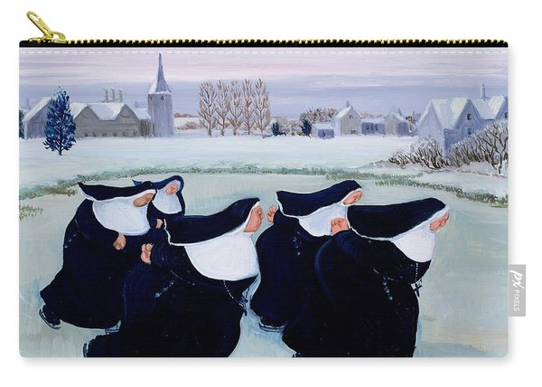 Winter At The Convent Carry-all Pouch