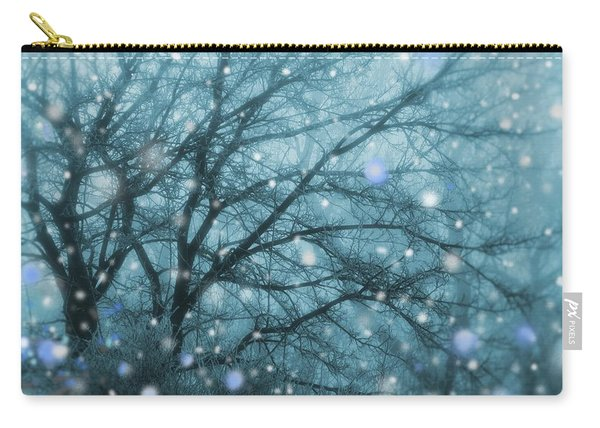 Winter Evening Snowfall Carry-all Pouch