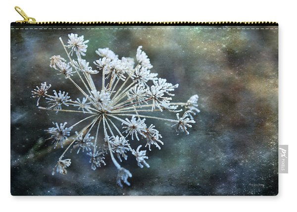 Winter Flower Carry-all Pouch