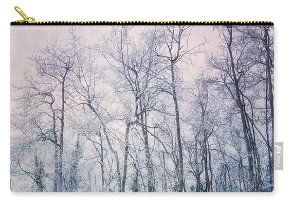 Winter Forest Carry-all Pouch