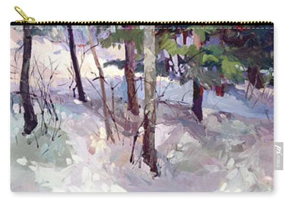 Winter Garden Plein Air Carry-all Pouch