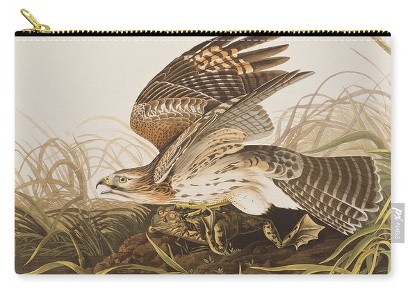 Winter Hawk Carry-all Pouch
