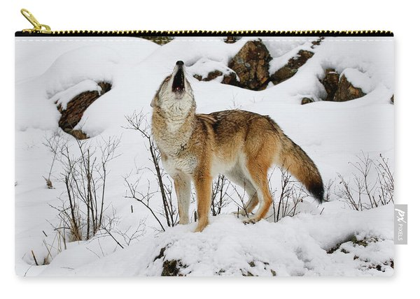 Winter Howl Carry-all Pouch