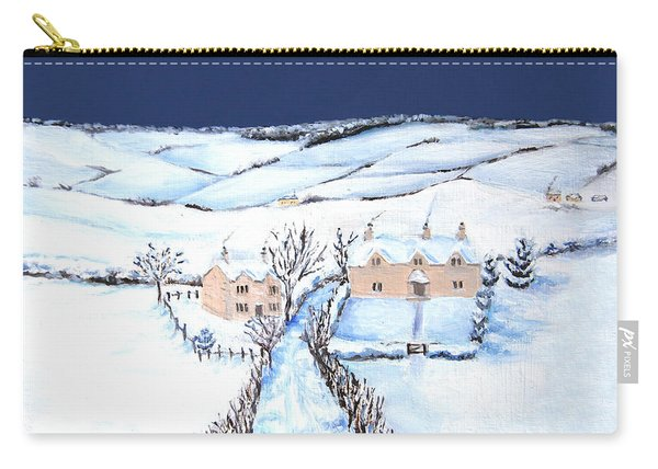 Winter In The Cotswolds Carry-all Pouch