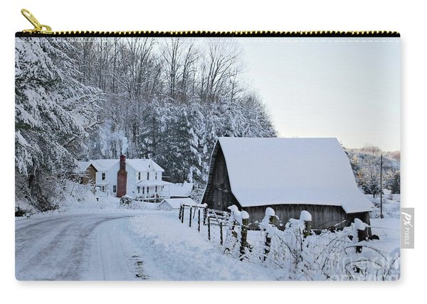Winter In Virginia Carry-all Pouch