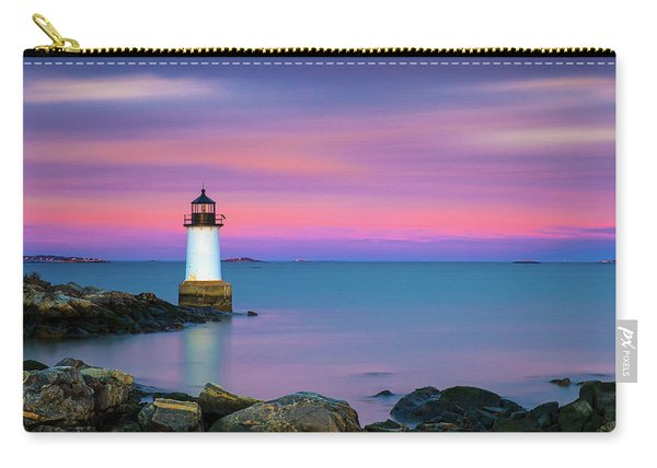 Winter Island Light 1 Carry-all Pouch