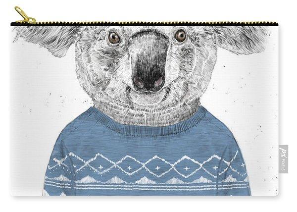 Winter Koala Carry-all Pouch