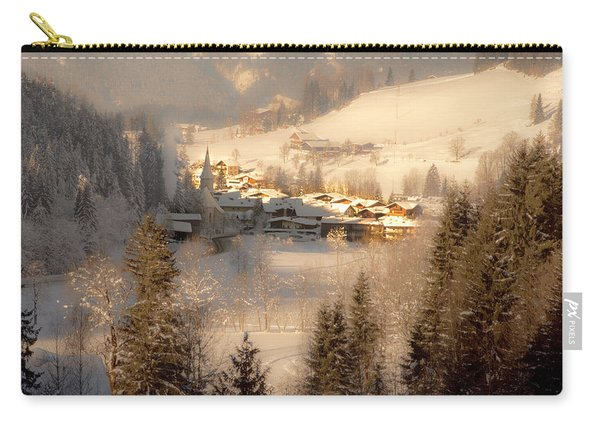 Winter Landscape Salzburger Land Carry-all Pouch