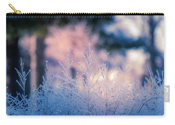 Winter Morning Light Carry-all Pouch