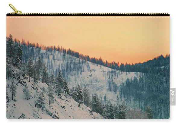 Winter Mountainscape  Carry-all Pouch