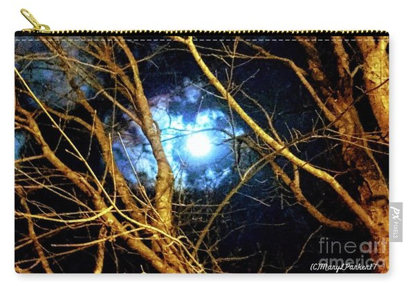 Winter Night Sky Carry-all Pouch