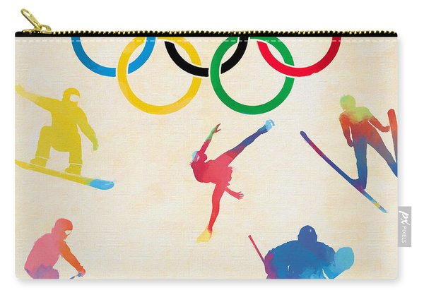 Winter Olympics Games Carry-all Pouch