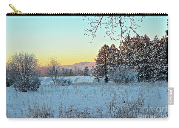 Winter On The Tree Farm Carry-all Pouch
