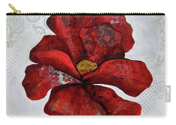 Winter Poppy I Carry-all Pouch