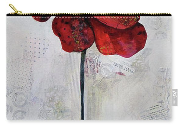 Winter Poppy II Carry-all Pouch