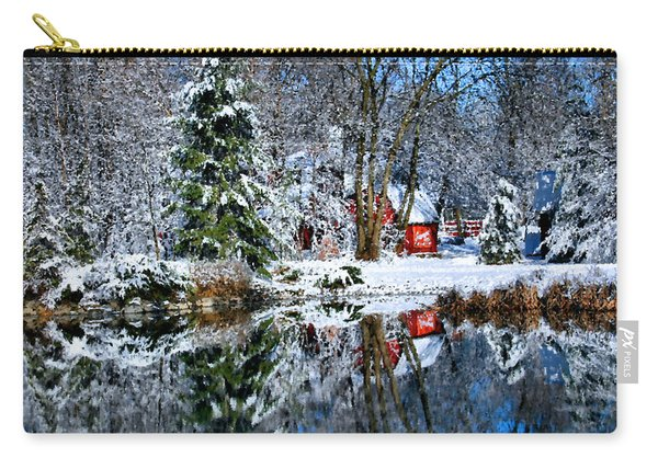Winter Reflection Carry-all Pouch