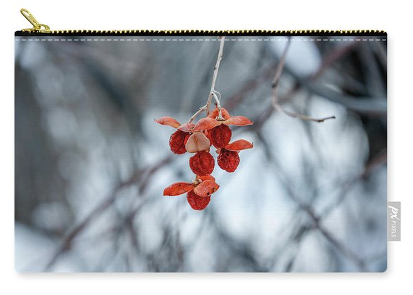 Winter Seeds Carry-all Pouch