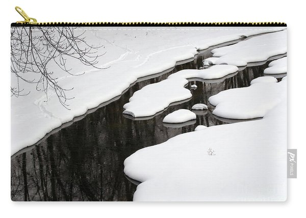 Winter Stream  Carry-all Pouch