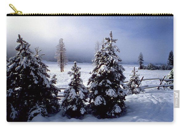 Winter Takes All Carry-all Pouch
