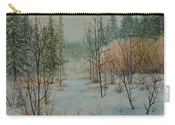 Winter Trail Alberta Carry-all Pouch