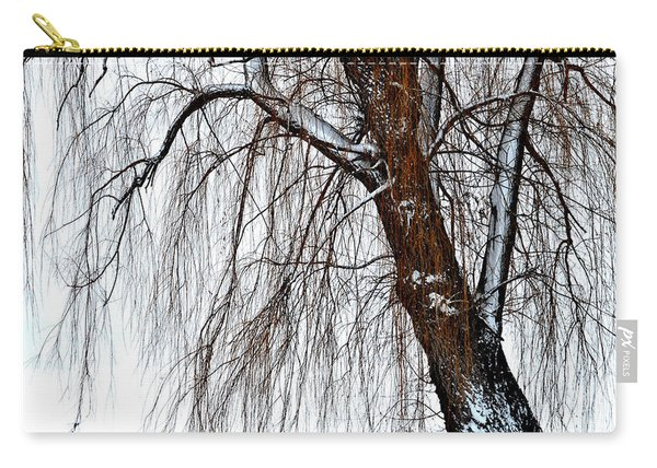 Winter Willow Carry-all Pouch