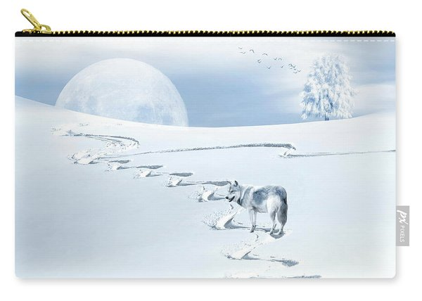 Winter Wonderland - Wolf Carry-all Pouch