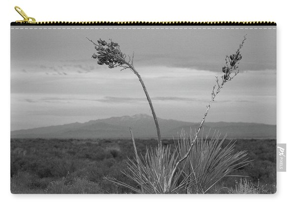 Winter Yucca Carry-all Pouch