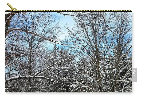 Winter's First Snow Carry-all Pouch