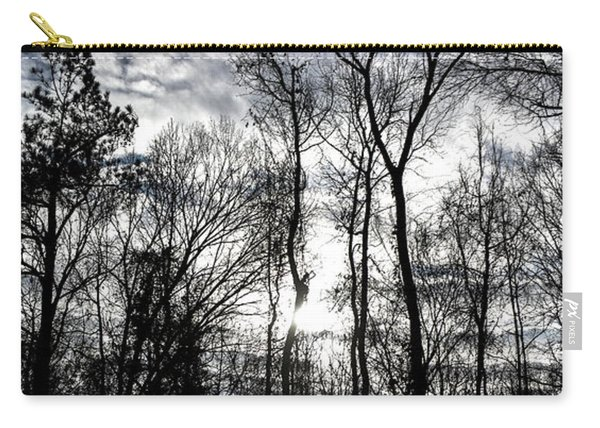 Winter's Mystic Horizon Carry-all Pouch