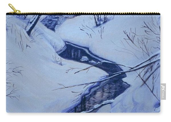 Winter's Stream Carry-all Pouch
