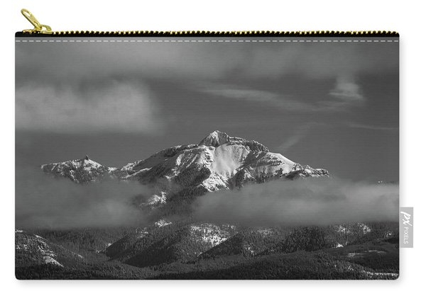 Carry-all Pouch featuring the photograph Winter's Window by Jason Coward