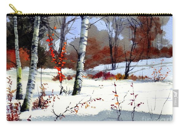 Wintertime Painting Carry-all Pouch