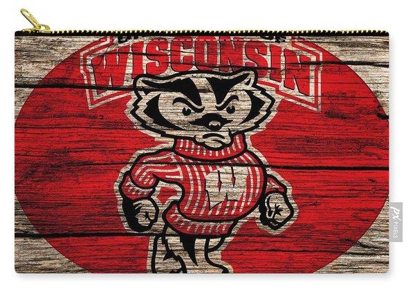 Wisconsin Badgers Barn Door Carry-all Pouch