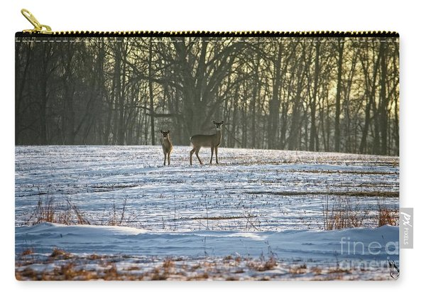Wisconsin Whitetail Deer Carry-all Pouch