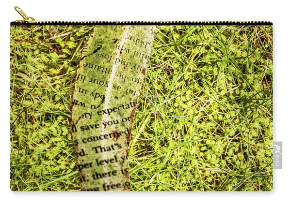 Wisdom In Nature Carry-all Pouch