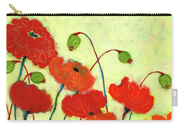 Wishful Blooming Carry-all Pouch
