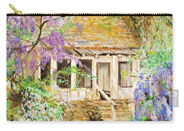 Wisteria House Carry-all Pouch