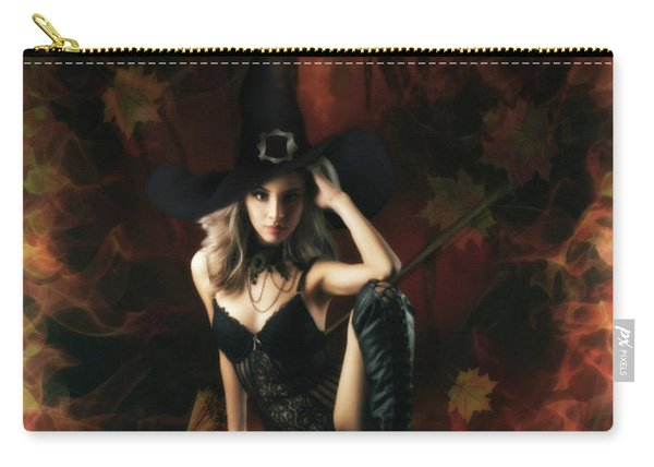 Witch's Broom Carry-all Pouch