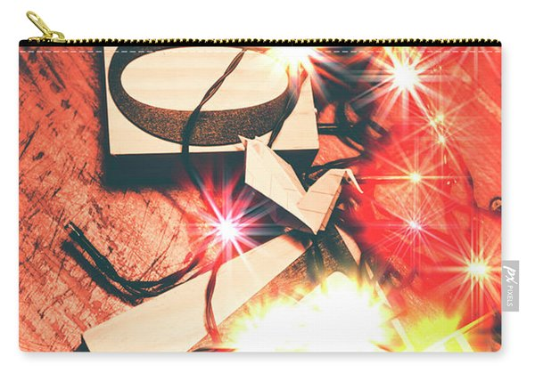 With Love And Lights Carry-all Pouch