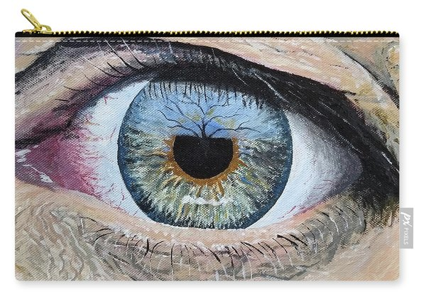 Carry-all Pouch featuring the painting Witness by Kevin Daly