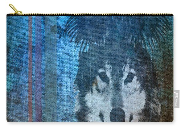 Wolf And Raven Carry-all Pouch