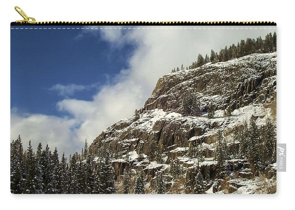 Wolf Creek Pass In Winter Carry-all Pouch