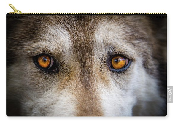 Wolf Eyes Carry-all Pouch