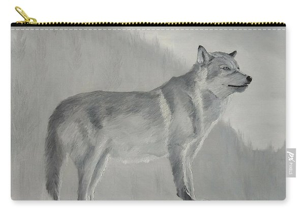 Carry-all Pouch featuring the painting Vantage Point by Kevin Daly