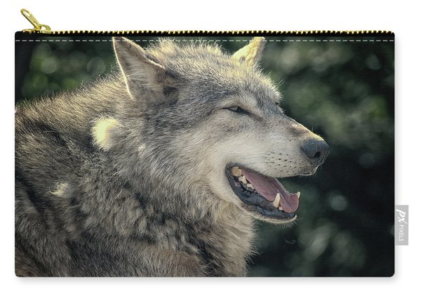 Wolf Rock Carry-all Pouch