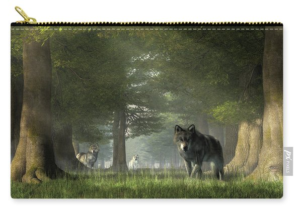 Wolves In The Forest Carry-all Pouch