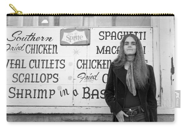 Woman Contemplates Scallops, 1972 Carry-all Pouch
